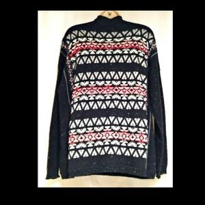 Chaps Sweaters - Woman's Chaps Mock Turtle Neck Sweater Size Large